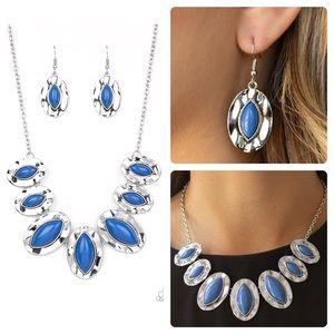 Terra Color blue necklace